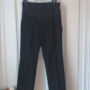 Gap black maternity Every day pants